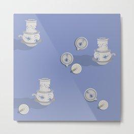 Ceramic Caffeine  Metal Print