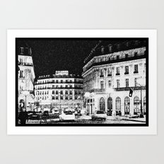 City of Night Art Print
