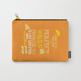 Love is the best thing we do Carry-All Pouch