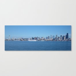 The Bluest Skies You've Ever Seen Canvas Print