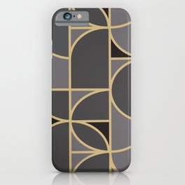Art Deco Graphic No. 34 iPhone Case