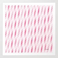 My Pink Design Art Print