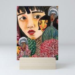 Eurydice Goes to Hadestown Mini Art Print