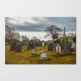 Old Burial Hill, Salem, MA Canvas Print