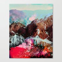 tchmo Canvas Prints featuring Untitled 20110310e (Landscape) by tchmo