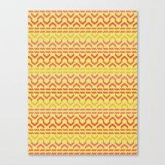 AZTEC pattern 1-1 Canvas Print