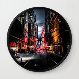 Gotham Wall Clock