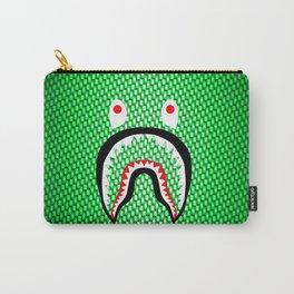 Green Carbon bape shark Carry-All Pouch