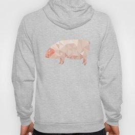Geometric Pig Hoody