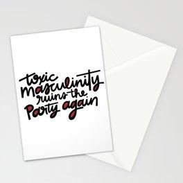 MFM Toxic Masculinity Stationery Cards