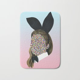 Bunny Girl Bath Mat