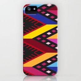 Colored huipil iPhone Case