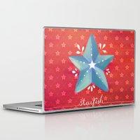 starfish Laptop & iPad Skins featuring Starfish by Anoosha Syed