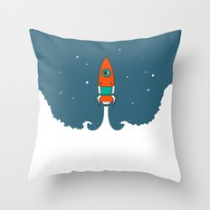 Not rocket science Throw Pillow