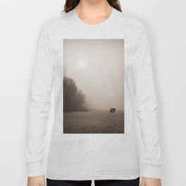 Alone at the beach Long Sleeve T-shirt