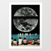 DARKSIDE (2013) Art Print