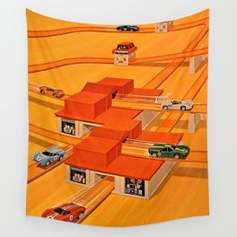 Vintage Hot Wheels Redline Power House Trade Print Poster Wall Tapestry
