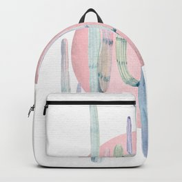 Desert Cactus Sun Rose Gold + Turquoise by Nature Magick Backpack