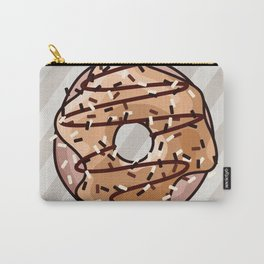 Toffee and Chocolate Donut Carry-All Pouch