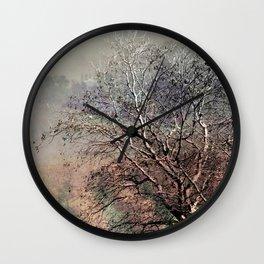 Moody Tree Wall Clock
