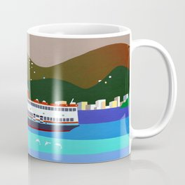 FERRY BOAT IN RIO Coffee Mug