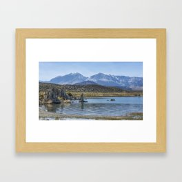 Mono Lake Tufa, No. 6 Framed Art Print