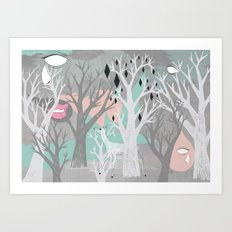 No End In Sight Art Print