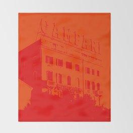 Venezia Red by FRANKENBERG Throw Blanket