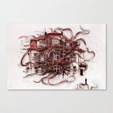 Lebendige Zeit Canvas Print