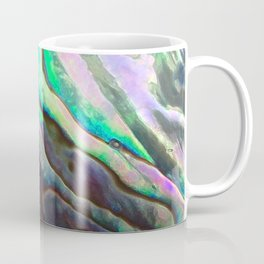 Pearlescent Abalone Shell Coffee Mug