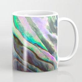 Pearlescent Abalone Shell Coffee Mug