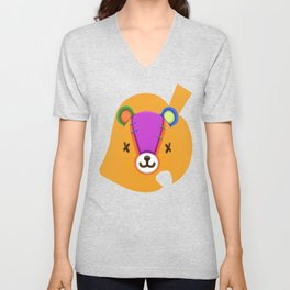 Animal Crossing Stitches the Cub Unisex V-Neck