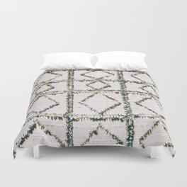 Arabic Tapestry With Sequins Duvet Cover