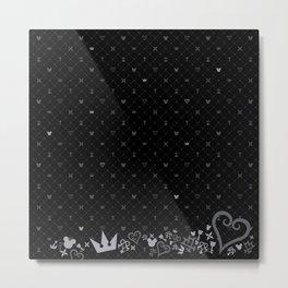 Kingdom Hearts BG Metal Print