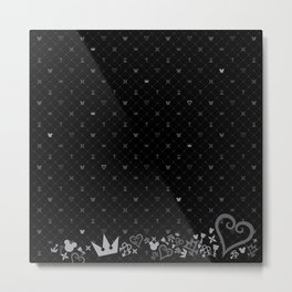 Kingdom Hearts BG Metal Print