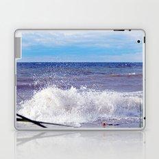 Wave Crashing onto the Beach Laptop & iPad Skin