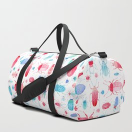 Watercolor Beetles Duffle Bag