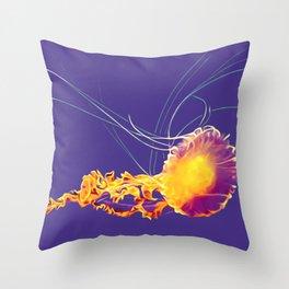 GrapeJelly Throw Pillow