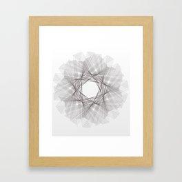 Guilloche #3 Framed Art Print