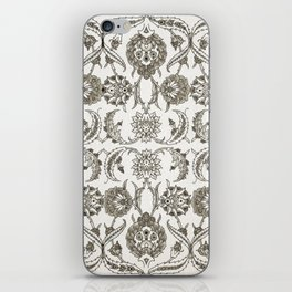 Faded Rose Garden Vintage Retro iPhone Skin