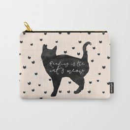 Reading Is The Cat's Meow Carry-All Pouch