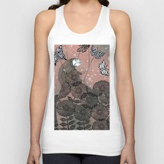 Night Garden (1) Unisex Tank Top