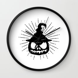 Halloween Pumpkin ! Wall Clock