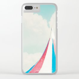 Carnival Tent Clear iPhone Case