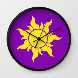 Rapunzel's Golden Sun Wall Clock