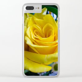 A rose by any other name Clear iPhone Case