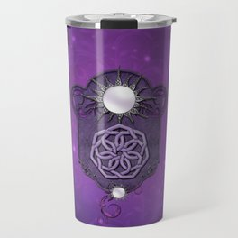 Elegant decorative celtic knot Travel Mug
