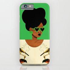 Green Postcard Fashion Slim Case iPhone 6s