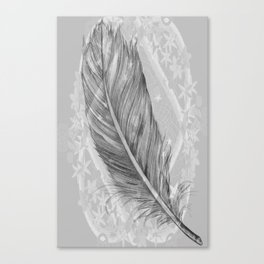 purity, peace & stars Canvas Print