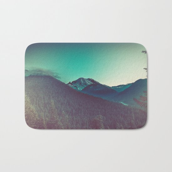 Mt. Olympus in Olympic National Park Bath Mat